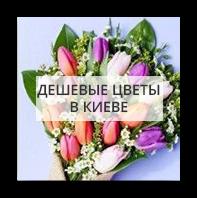 Дешевые цветы Киев